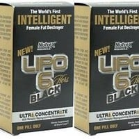 Nutrex Research Lipo Black Ultra Concentrate 60 Caps Double Pack   deviazon.com