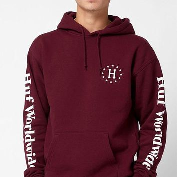 DCCKYB5 HUF 12 Galaxies Pullover Hoodie
