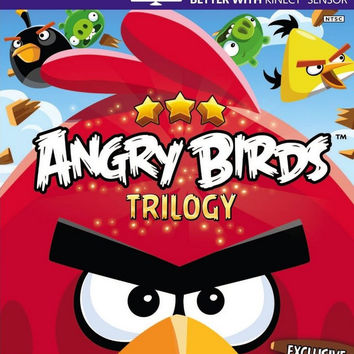 Angry Birds Trilogy - Xbox 360 (Very Good)