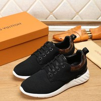 DCCK Louis Vuitton LV Fashion Casual Sneakers Sport Shoes Black Size 40-45