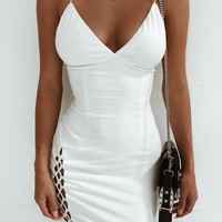 Buy Our Tashanna Dress in White Online Today! - Tiger Mist