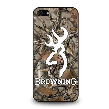 CAMO BROWNING iPhone 5 / 5S / SE Case Cover