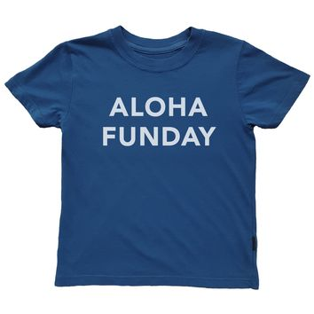 Aloha Funday Tee - Blue