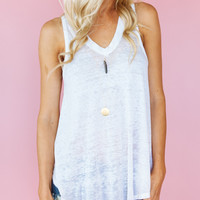 Breezy Tank White | Free People