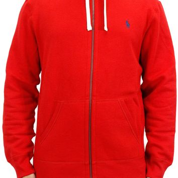 Polo Red Zip Hoodie