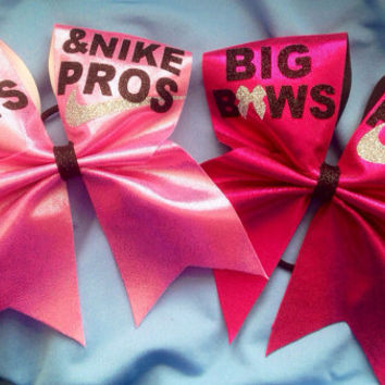 Cheer bow - nike pros
