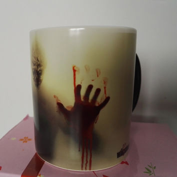 The Walking Dead - Walker Temperature Color Changing Coffee / Tea Mug / Cup