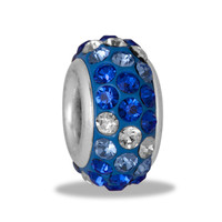 DaVinci Beads Crystal Blue Multi Color Jewelry