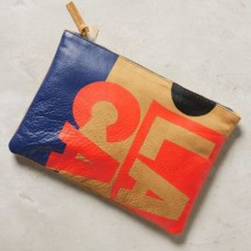 Clare V. SoCal Pouch in Honey Size: One Size Clutches
