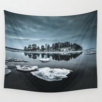 Only pieces left Wall Tapestry by happymelvin
