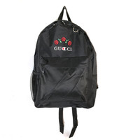 The Champion Logo with Roses Backpack