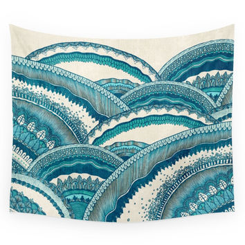 Society6 Hills Of Hope Wall Tapestry