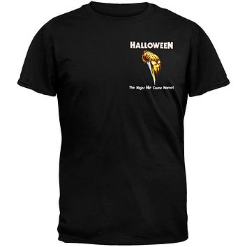 Halloween - Pumpkin Pocket Logo T-Shirt