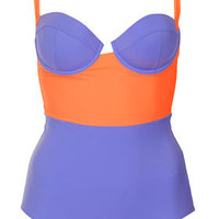 Bluebell Colourblock Swimsuit - Swimwear  - Clothing