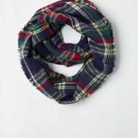 Campus Chill Circle Scarf in Navy by ModCloth
