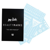 "BeautyMarks ""The New Makeup"" - White – Mr. Kate"