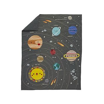 Outer Space Baby Quilt