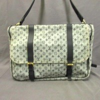 Auth LOUIS VUITTON Sac Maman M42350 Blue Monogram Mini Canvas