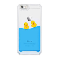 Swimming Ducks 3D iPhone Case
