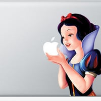 Snow White MacBook Apple Mac Decal Sticker Vinyl by Kooldecal