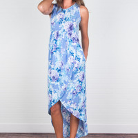 Can't Give You Up Maxi Dress, Lavender