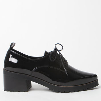 Sixty Seven Patent Leather Oxford Shoes at PacSun.com