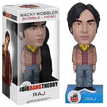 Big Bang Theory Raj Bobble Head