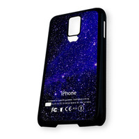 Blue Angel Galaxy Nebula Apple Samsung Galaxy S5 Case