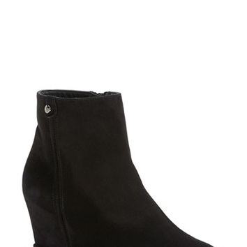Women's Stuart Weitzman 'Slidein' Wedge Bootie ,