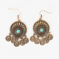 Altar'd State Medallion Coin Earrings | Altar'd State