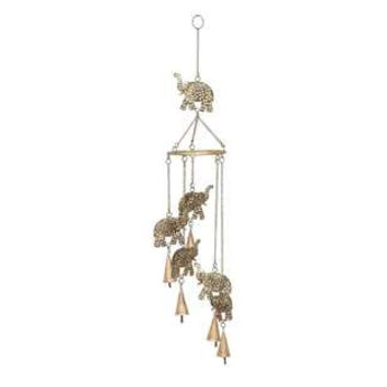 Garden Wind Chimes - Metal Elephant Windchimes