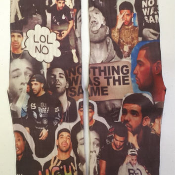 Drake Collage Custom Socks!