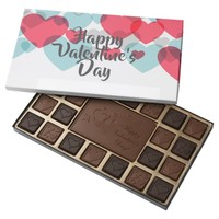 Happy Valentine Day 45 Piece Box Of Chocolates