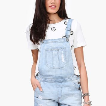 Recess Denim Overalls