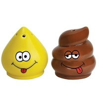 Tinkle and Turd Salt and Pepper Shaker Set