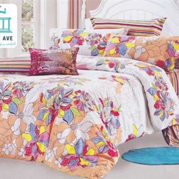 Twin XL Comforter Set - College Ave Dorm Bedding XL Twin Bed Set Cotton College Comforter Set Comfy Warm
