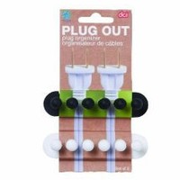Amazon.com: DCI Pug Out Plug Organizer, Assorted Colors, Set of 2: Home & Kitchen