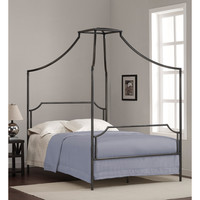 Bailey Charcoal Full-size Canopy Bed Frame | Overstock.com Shopping - The Best Deals on Kids' Beds