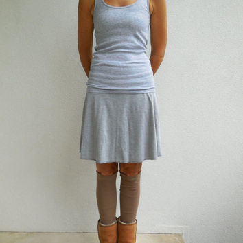 T Shirt Leg Warmers / Caramel / Brown / Womens / Girls / Teens / Recycled / Upcycled / Winter / Soft / Cotton / Fashion / ohzie