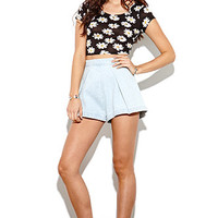 Finders Keepers Once Again Denim Shorts at PacSun.com