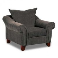 American Furniture Warehouse -- Virtual Store -- Chair-Textured Chenille Grey