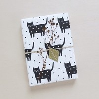 Papier cadeau | Wrapping paper Dotty Kitty • Audrey Jeanne