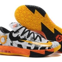 "2017  Nike Zoom KD 6  Kevin Durant  Ⅵ   ""MVP ""  Basketball Shoes"