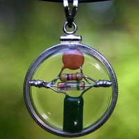 Circle of Peace Beta Blocker Crystal Quantum Radio Amulet