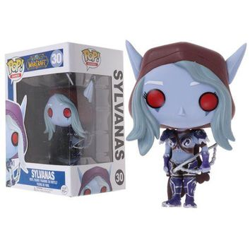 Funko Pop World of Warcraft Arthas Illidan Vinyl Action Figure Toys