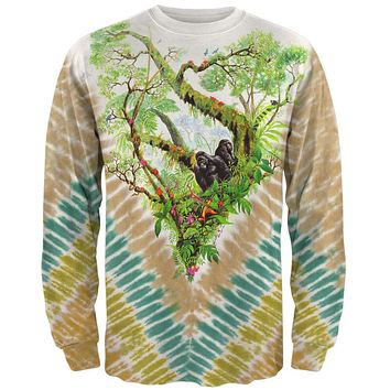 Gorilla Rainforest Long Sleeve T-Shirt
