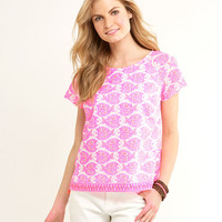 Shop Batik Fish Print Top at vineyard vines
