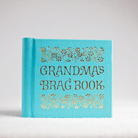 grandma brag book / mini photo album / grandmother gifts / grandma gift