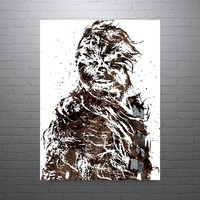 Star Wars Chewbacca Poster