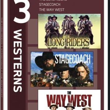 3 WESTERNS: THE LONG RIDERS / ST